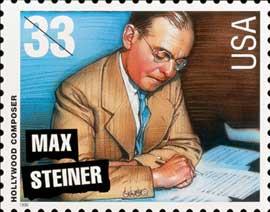 Max Steiner Stamp